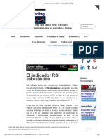 El Indicador RSI Estocástico _ Técnicas de Trading