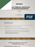 Ppt Pf Bedah Plastik Luka Bakar, Trauma Maksilofasial, Chronic Wounds