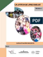 1.3.1 MEC. Modulo ( 1) I, II Y III de Técnicas Activas de Aprendizaje. Año 2.015