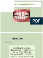 Diagnóstico ortodóntico