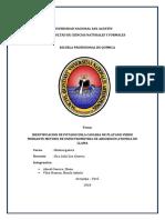 Identificacion de Potasio Enla Cascara de Platano Verde Mediante Metodo de Espectrometria de Absorcion Atomica de Llama