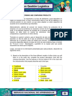 Evidencia 2 Describing and Comparing Products