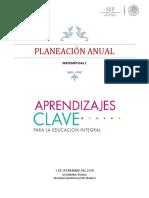 Plan Anual 1ro Matematicas