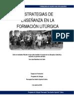 FORMACIÓN LITURGIA 2019