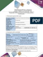 Guía de actividades y rúbrica de evaluación - Paso 4 - Desarrollar el Plan de acción para el mejoramiento (2)