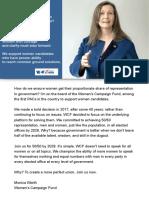 Monica Worth - Women's Campaign Fund - WCF