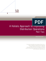 A Holistic Approach to Improving Distribution Opertaions Pt 2