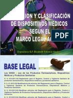 base legal de dispositivos medicos