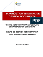 Diagnóstico Gestión Documental - UAEOS
