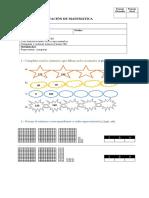 Evaluación Matemática Números