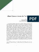 Albert Camus a traves de La Peste.pdf