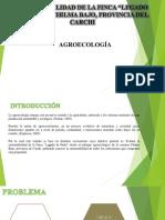 Agroecología Presentación chilma Bajo