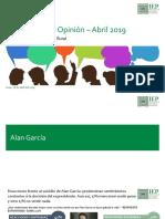 IEP, Informe OP Abril 2019, Alan García.informe OP Abril 2019_4