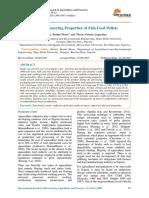 Some Engineering Properties of Fish Feed Pellets