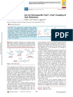 7. Chiral Aniline Synthesis via Stereospecific C(Sp3)–C(Sp2) Coupling of Boronic Esters