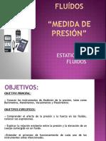 MEDIDA DE PRESION FLUIDOS