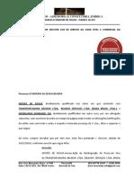 Ausência Citação Contestação - Moisés de Souza
