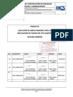 Procedimiento de Construcción de Moldaje, Enfierradura y Hormigón R02_t