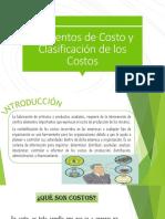 Dipositivas de Elementos y Clasificacion de Costos