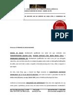 Petição Preambular - Moisés de Souza - Copia