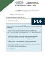 Evaluación Diagnóstica Sextos