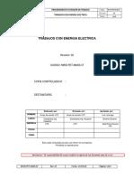 Procedimiento Trabajos Con Energia Electrica