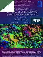 Polímeros de cristal líquidos