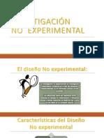 4 Diseños No Experimentales