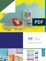 (060916) Color Chart Arte Nusatex - Waterbased