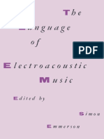 Simon Emmerson (eds.) - The Language of Electroacoustic Music-Palgrave Macmillan UK (1986).pdf