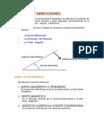 Capitulo 5 (Angulos y Direcciones)