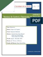 Unidad II. Técnicas de Control y Operación del Almacén.docx