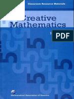 H. S. Wall - Creative Mathematics (Classroom Resource Materials) (Mathematical Association of America Textbooks) (2008).pdf