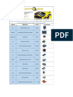 Catalogo Arduino Precio Publico 2019
