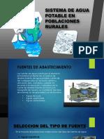 SISTEMA DE AGUA POTABLE PARA UNA POBLACIONES RURALES 2.pptx