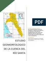 Estudio Geomorfológico de la cuenca del Río Santa