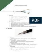 Kelebihan Dan Kekurangan Kabel jaringan