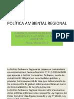 Politica Ambiental PIURA