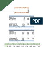 Calculos y Cuestionario Resato Hidraulico