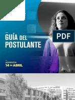 Guia Postulante Web