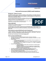 Bulletin 73 HSSE Audit Guidelines Jan 2015