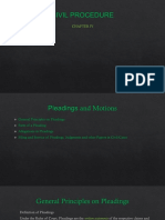 Civ Proc_pleadings and Motions