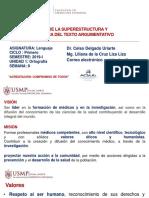 Semana 8_Recapitulación de La Superestructura y Macroestructura de Texto Argumentativo