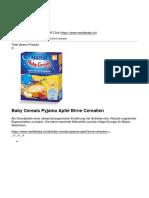 Nestle Bebe Club - Baby Cereals Pyjama Apfel Birne Cerealien - 2018-04-18