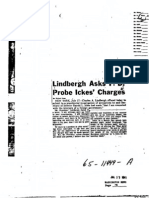 FBI Dossier on Charles A. Lindbergh (FOIA Declassified), Part 3b