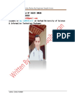 Quantity Notes by Saqib Imran PDF