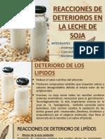 Deterioro de La Leche de Soja