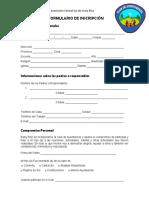 Formulario de Inscripción Aventureros a.c.s.c.r