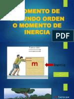 MOMENTO DE SEGUNDO ORDEN