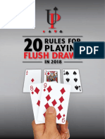 Upsing Poker Flush Draws